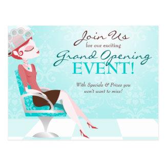 Beauty Goddess Salon Grand Opening Postcard