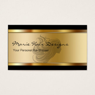 Beauty Hairdresser Business Cards