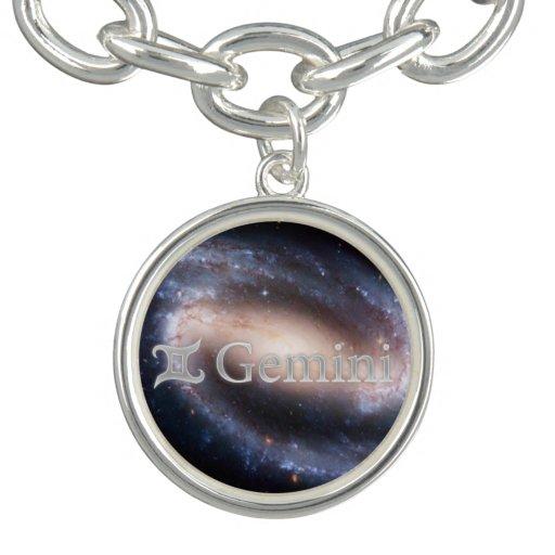 Beauty horoscope - Gemini Zodiac sign Charm Bracelet