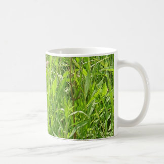 'Beauty in a Blade of Grass' photo mug