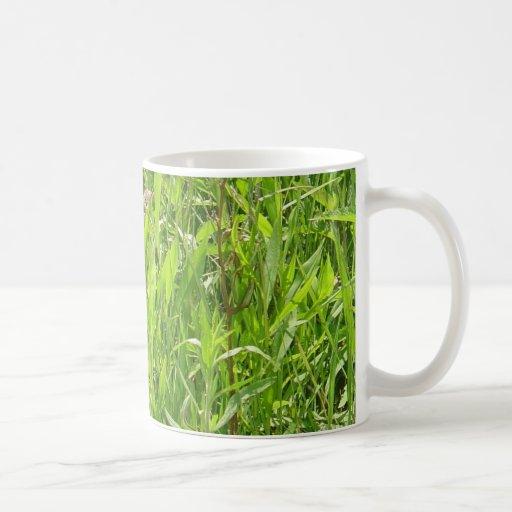 'Beauty in a Blade of Grass' photo mug