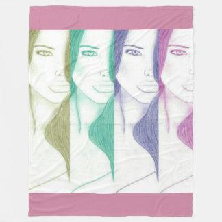 Beauty In Colors 2 Fleece Blanket