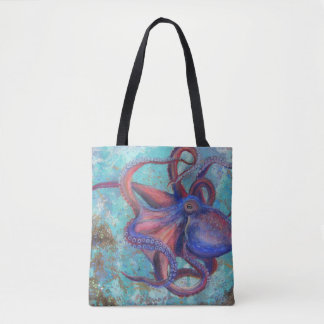 Beauty in Eight - Octopus Tote Bag