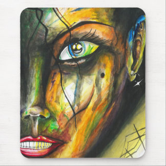 Beauty in Perseverance - Watercolor Art Mouse Pad