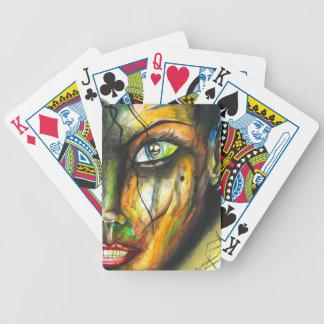 Beauty in Perseverance - Watercolor Art Poker Deck