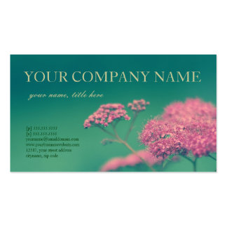 Beauty in Pink Business Card Templates