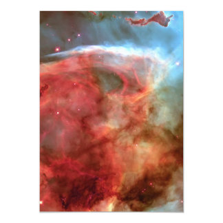 Beauty in Space Nebula photography Card