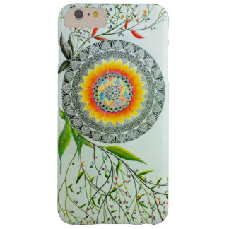 Beauty in the Mandala Flowers_ iPhone case