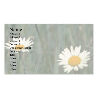 Beauty In The Weeds Business Card Templates