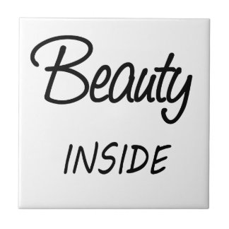 beauty inside ceramic tile