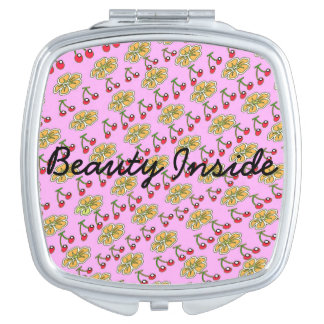 Beauty Inside Compact Mirror