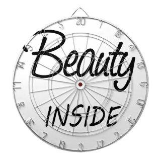 beauty inside dartboard