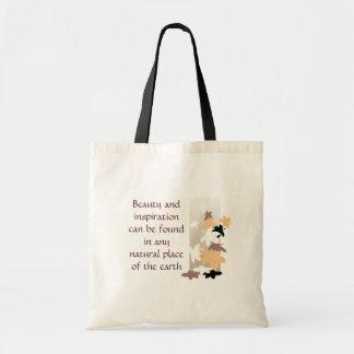 Beauty & Inspiration - Leaf Bag