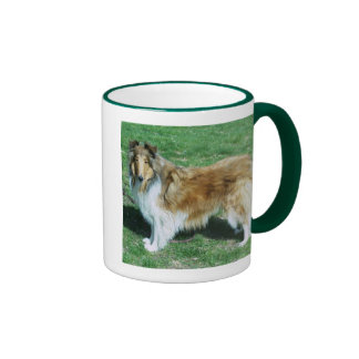 BEAUTY IS A ROUGH COLLIE MUGS