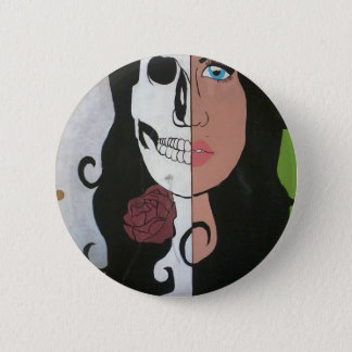 Beauty is Deadly 6 Cm Round Badge
