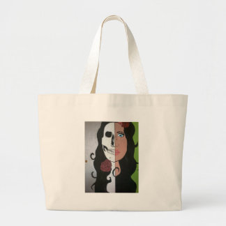 Beauty is Deadly Large Tote Bag