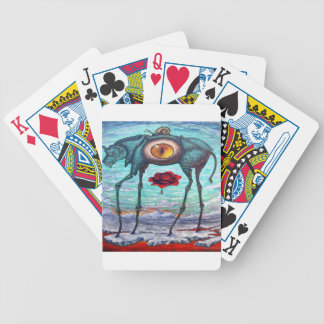 Beauty is in the eye of the Beholder Bicycle Playing Cards
