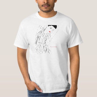 Beauty is in the Lines Tee Shirts