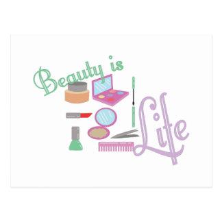 Beauty Is Life Postcard