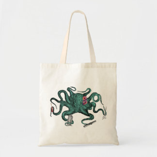 Beauty Octopus Tote Bag