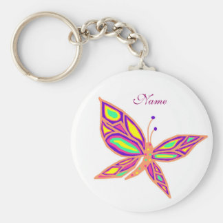 Beauty of a Butterfly, Name key chain