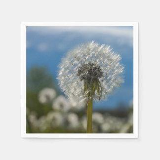 Beauty Of A Dandelion Paper Napkins