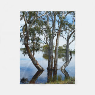 Beauty Of A Gum Tree  Small Fleece Blanket.