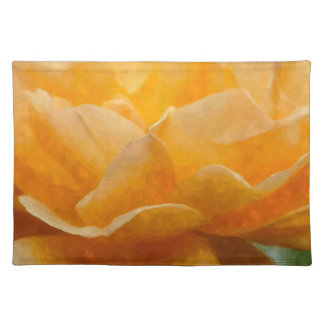 Beauty Of A Rose Painterly Placemat