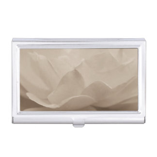Beauty Of A Rose Sepia Business Card Holders
