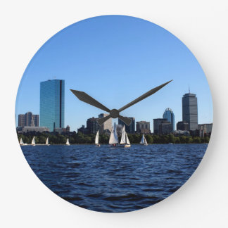 Beauty of Boston Wall Clock