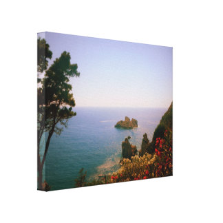 Beauty of Corfu, Greece Canvas Print