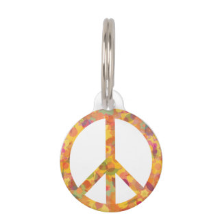 Beauty of Peace Pet ID Tag