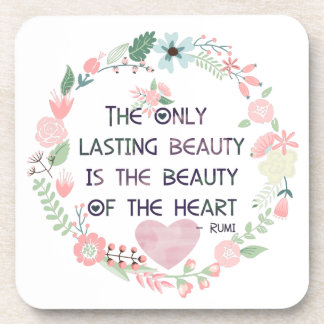 Beauty of the Heart Drink Coasters