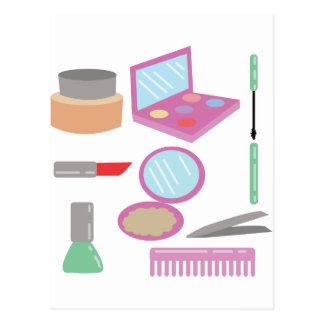 Beauty Products Postcard