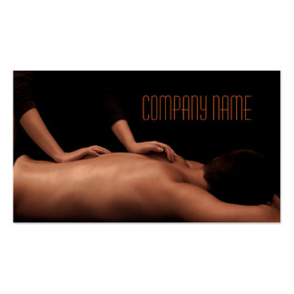 Beauty Salon / Massage / Relax / SPA House Pack Of Standard Business Cards