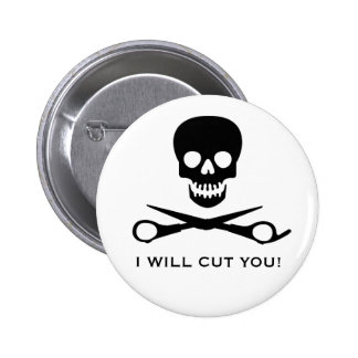 Beauty Shop Pirate 6 Cm Round Badge