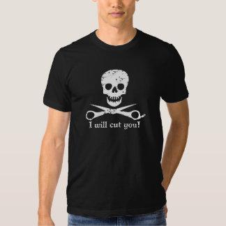 Beauty Shop Pirate_Distressed_White Shirts