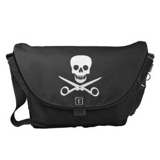 Beauty Shop Pirate_Logo Messenger Bag