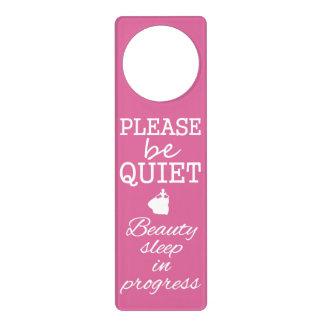 Beauty Sleep Princess door hanging Door Hanger