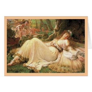 Beauty Sleeping Greeting Card