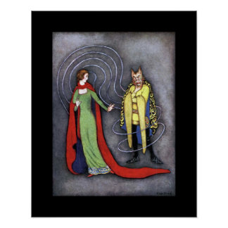 Beauty & The Beast ~ Fairy Tales ~ Bedtime Story ~ Poster
