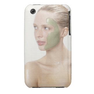 beauty, wet, spa, hair up, blonde, blue eyes iPhone 3 covers
