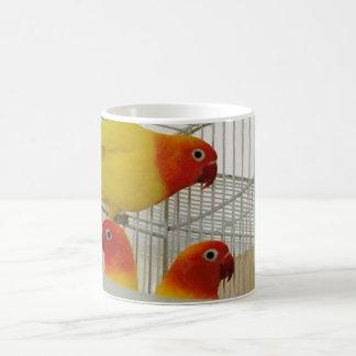 BEAUTYFULL LOVE BIRD MUG. COFFEE MUG