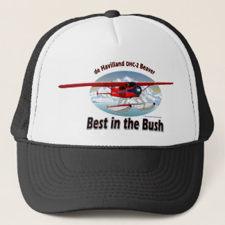 Beaver/ Best in the Bush Trucker Hat
