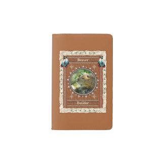 Beaver -Builder- Notebook Moleskin Cover