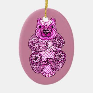 Beaver Ceramic Ornament