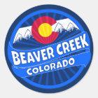 Beaver Creek Colorado mountain burst sticker