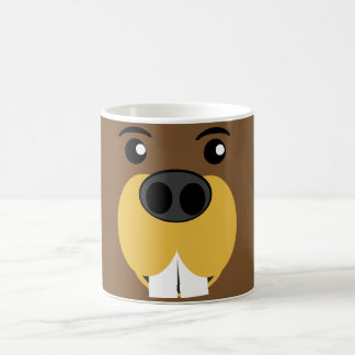 Beaver Face Coffee Mug