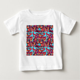 beaver happy birthday cartoon style illustration baby T-Shirt