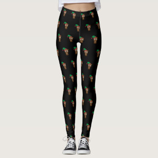 Beaver Holiday Elf Leggings